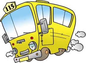 Cartoon School Bus Clip Art