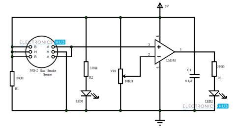 How Make Smoke Detector Alarm Circuit