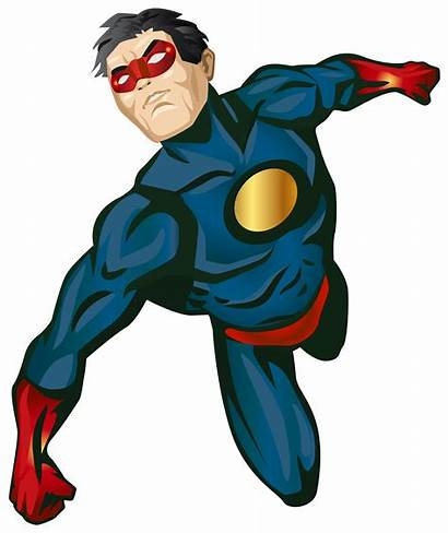 Hero Clip Super Superhero Clipart Marvel Transparent