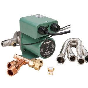 under sink water recirculating pump taco tacogenie 1 40 hp water recirculating pump with