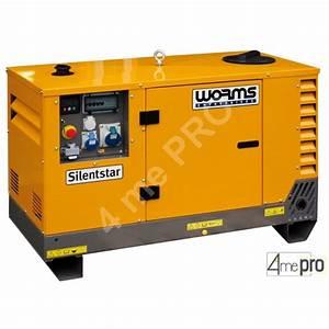 Groupe Electrogene 10 Kw : groupe lectrog ne diesel silentstar monophas 11 2 kw ~ Premium-room.com Idées de Décoration