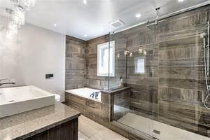 Salle de bains moderne on collection avec photos for Salle de bain design avec image encadree décoration