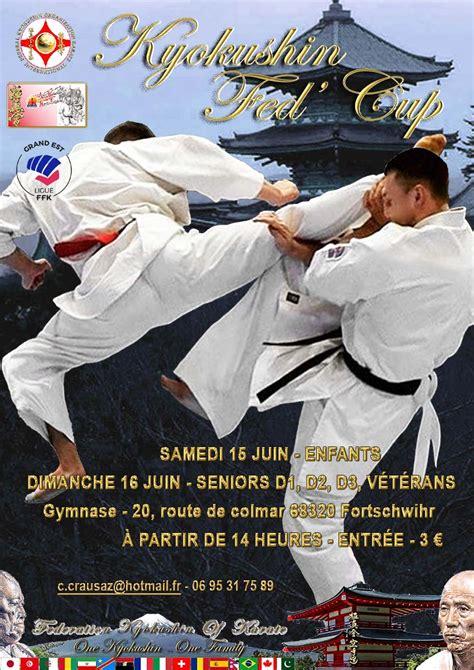kyokushin federal calendar