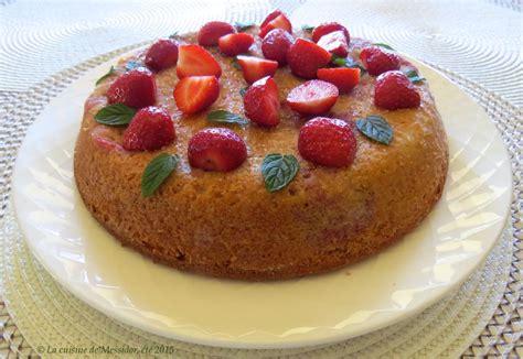 jeux de aux fraises cuisine gateaux la cuisine de messidor gâteau amandine aux fraises