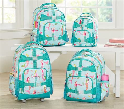 pottery barn backpacks mackenzie aqua mermaids backpacks pottery barn