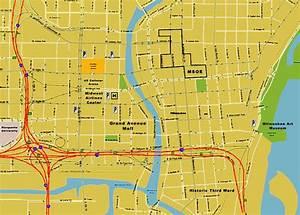 Milwaukee Map - Free Printable Maps