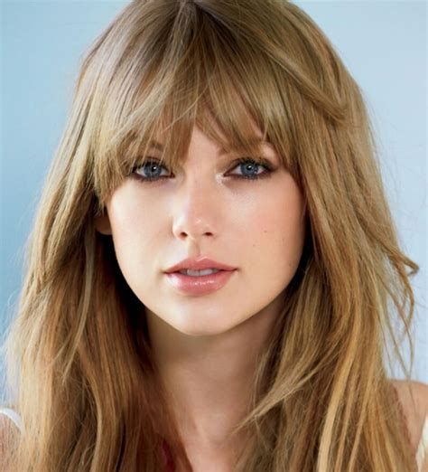 Steal the Bombshell Bang of Taylor Swift   StyleNoted