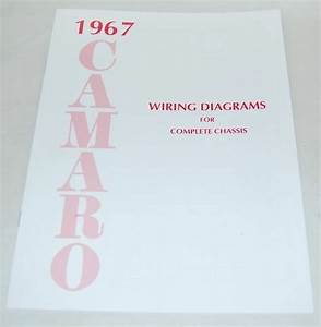 67 Chevy Camaro Electrical Wiring Diagram Manual 1967