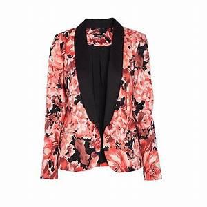 Blazer Femme Fleuri : shopping veste blazer veste smoking femme ~ Melissatoandfro.com Idées de Décoration