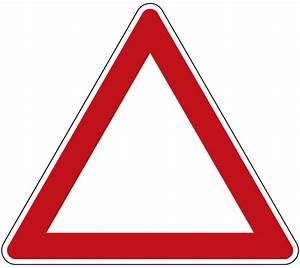 File German Road Sign