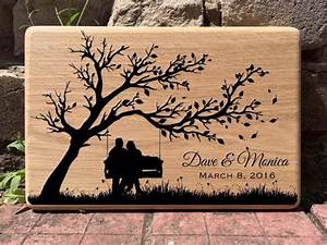 personalized cutting board custom wedding gift for by With vinyl lettering ideas