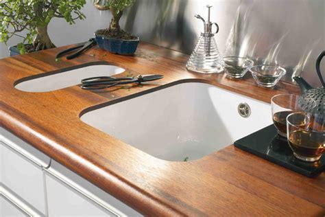 protection plan de travail bois cuisine comment choisir et poser un plan de travail de cuisine