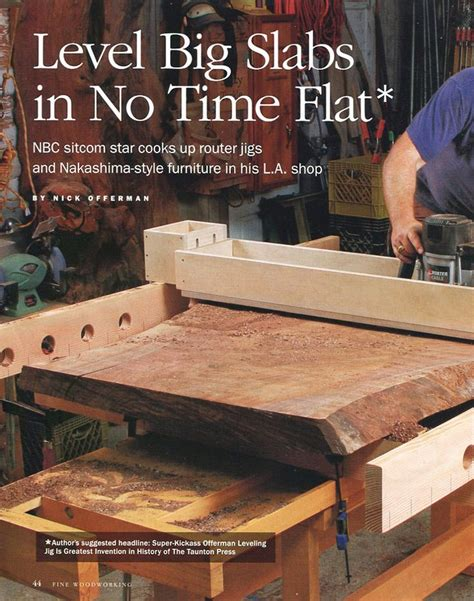 nick offerman  featured   fine woodworking