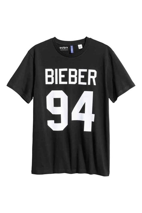 Image - H&M Bieber 94 shirt.jpg | Justin Bieber Wiki