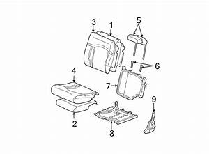 Chevrolet Tahoe Seat Back Frame  3rd Row Seat