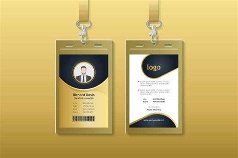 security id card templates illustrator ms word