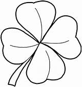 Shamrock Coloring Pages Template Clover Sheets Leaf Four Tattoo Pattern Trinity Cartoon Coloringfolder Complete sketch template