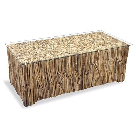 driftwood furniture inadam furniture 187 driftwood rectangle coffee table driftwood furniture