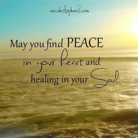 find peace   heart  healing   soul