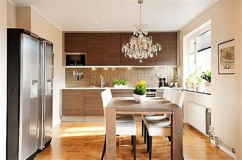 great ideas  small kitchens  compact dining areas