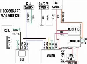 Diagrama De Cableado Gy6 Lovely Excellent 4 Pin Cdi Ideas