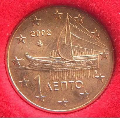 Cent 2002 Coin Greece Euro Coins Variants