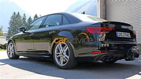 audi sedan spied camouflage frankfurt debut expected