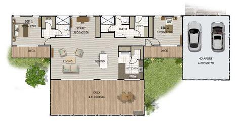 floor plan  bedroom  study range style   granny flats  small houses pinterest