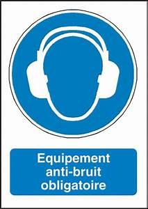 Porte Anti Bruit : signalisation equipement anti bruit obligatoire m003f ~ Edinachiropracticcenter.com Idées de Décoration