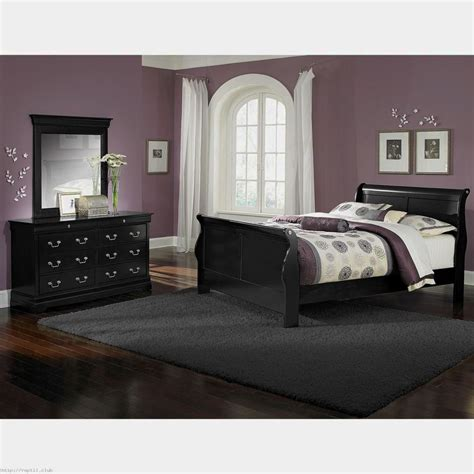 Bedroom With Black Furniture Amazing Point Of View