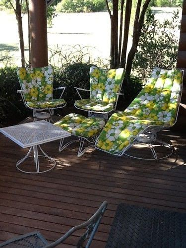5 pc vintage homecrest mid century modern outdoor