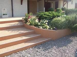 rsine gravier extrieur finest design jardins resine de With ordinary pierre pour allee de jardin 13 terrasse en beton cire