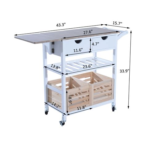 kitchen cart dining table kitchen trolley cart drop leaf table folding dining modern