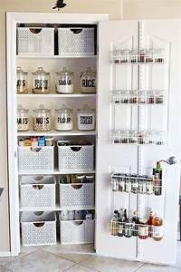 Rangement Cuisine Organisation : organization small pantry makeover rangement ~ Premium-room.com Idées de Décoration