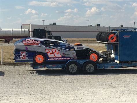 Open / Race Trailer With Removable Box For Sale In