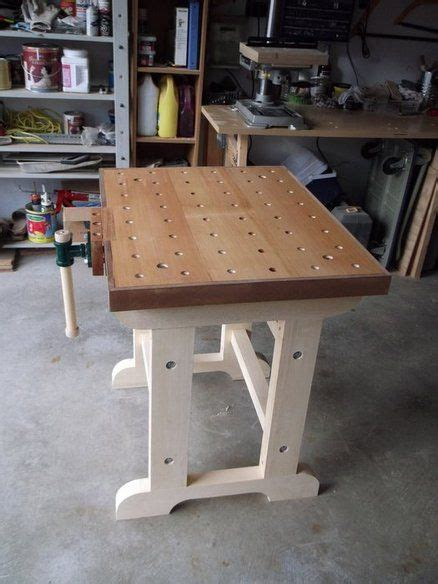 small workbench simple    top  limited garage