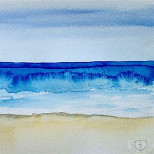 painting the ocean