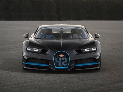 The $3 million Bugatti Chiron set a new speed record ...