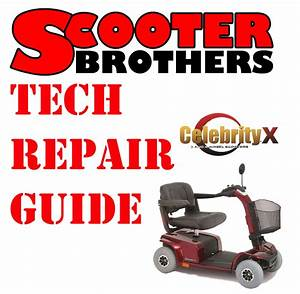 Ultimate Service Guide For Pride Celebrity X Scooter
