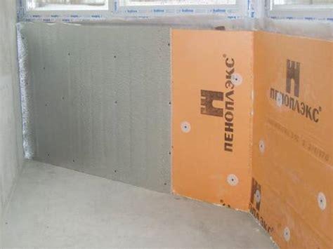 Инструкция по утеплению стен пеноплексом