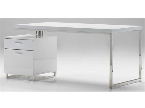 white desk with file cabinet mobital span 63 x 32 white office desk with file cabinet