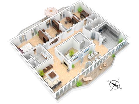 split plan house ausgezeichnet grundrisse 3d fein haus grundriss 3d