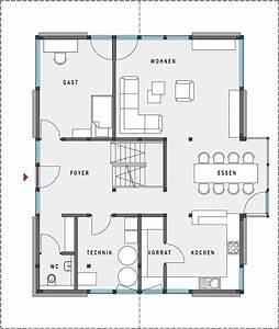 Haus Grundriss Ideen Einfamilienhaus : grundriss erdgeschoss huf haus modum 8 10 ideen rund ums ~ Lizthompson.info Haus und Dekorationen