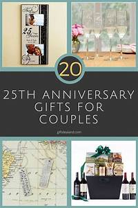 27 Good 25th Wedding Anniversary Gift Ideas For Him Her