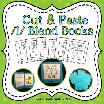 cut  paste mini books   blends  laminating ink