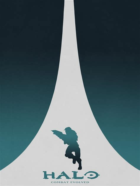 Series Of Halo Minimalist Style Posters Oc Gaming