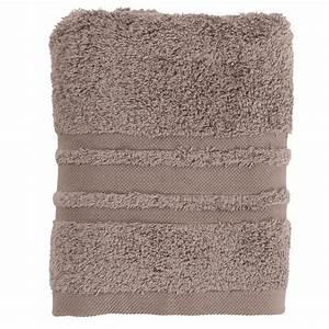 Serviette Carré Blanc : serviette de toilette lola ii vison carre blanc ~ Teatrodelosmanantiales.com Idées de Décoration
