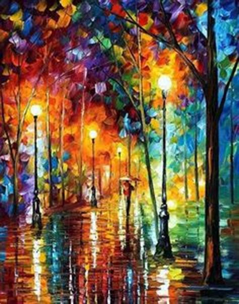 Most Famous Paintings Ever  Leonid Afremov One Of The
