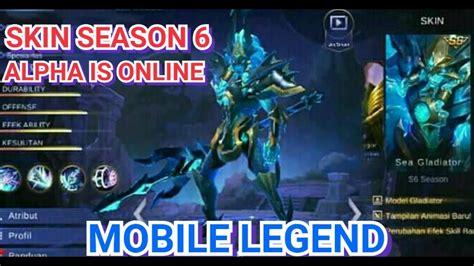 Reward Skin Season 6 Terbongkar -mobile Legend Indonesia