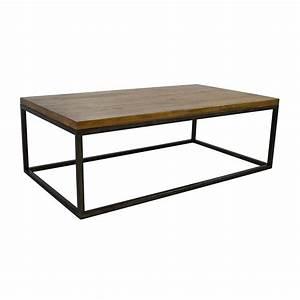 51 off west elm west elm box frame coffee table tables With west elm box frame storage coffee table